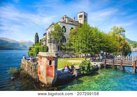 Piedmont - Orta Lake - Orta San Giulio island - Novara - Italy