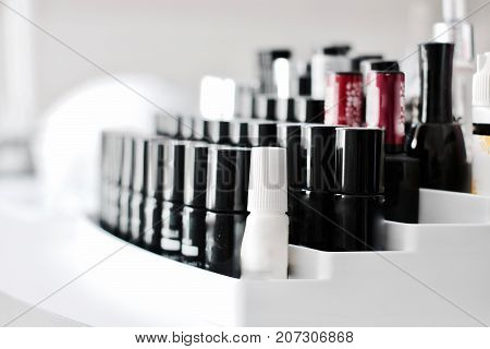 Nails Lacquer In Small Bottles