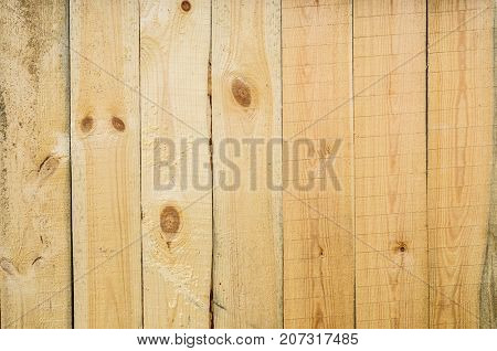 Natural wood plank wall background