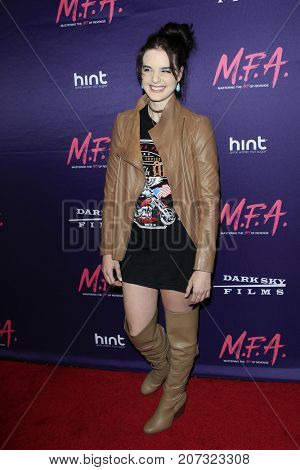 LOS ANGELES - OCT 2:  Maddison Bullock at the