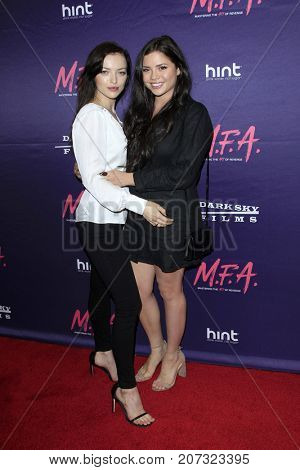 LOS ANGELES - OCT 2:  Francesca Eastwood, Morgan Eastwood at the
