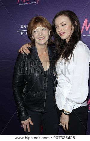 LOS ANGELES - OCT 2:  Francesca Eastwood, Frances Fisher at the
