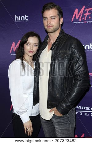 LOS ANGELES - OCT 2:  Francesca Eastwood, Pierson Fode at the