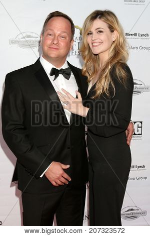 LOS ANGELES - SEP 30:  Josh Banks, Rachel Helson at the Catalina Film Festival - September 30 2017 at the Casino on Catalina Island on September 30, 2017 in Avalon, CA