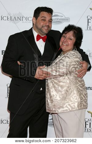 LOS ANGELES - SEP 30:  Ron Truppa, his mother at the Catalina Film Festival - September 30 2017 at the Casino on Catalina Island on September 30, 2017 in Avalon, CA