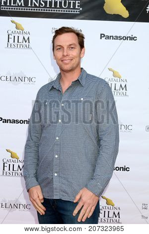 LOS ANGELES - SEP 30:  Shaw Leonard at the Catalina Film Festival - September 30 2017 at the Casino on Catalina Island on September 30, 2017 in Avalon, CA