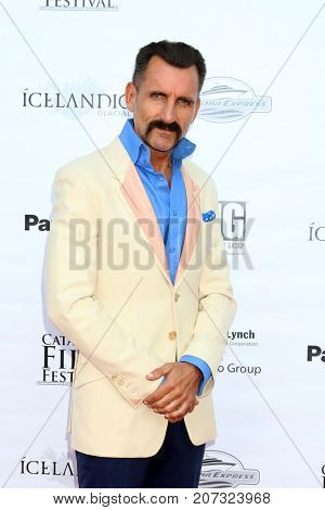 LOS ANGELES - SEP 30:  Wass Stevens at the Catalina Film Festival - September 30 2017 at the Casino on Catalina Island on September 30, 2017 in Avalon, CA