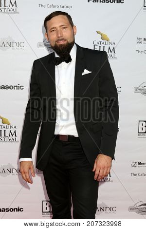 LOS ANGELES - SEP 30:  Slater Dixon at the Catalina Film Festival - September 30 2017 at the Casino on Catalina Island on September 30, 2017 in Avalon, CA