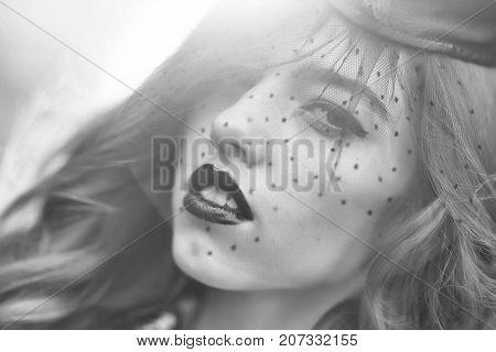 Sexy Woman In Garrison Cap