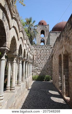 San Giovanni degli Eremiti in Palermo on Sicily. Italy
