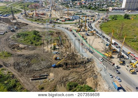 Construction Of Two-level Outcome On Bypass Road