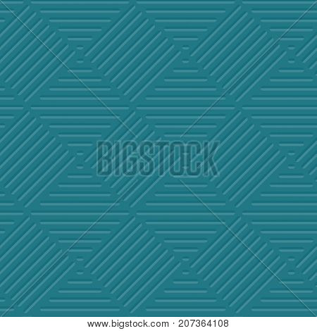 sea Green line background vector illustration. seamless pattern for surface design in web and print. geometry marine ocean color repeatable abstract motive