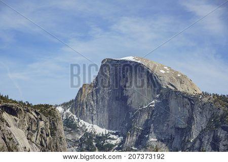 Yosemite Nature Scene - Half Dome