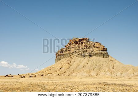 Courthouse Rock Formations