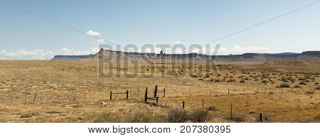 Rock Formations And Grasslands