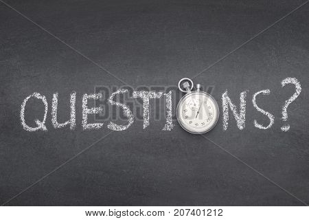 Questions Ask Watch