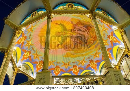Paintings Of Summer Altar In Pochaev Lavra