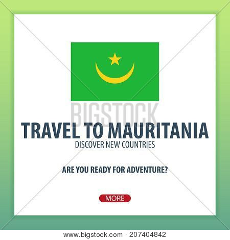 Travel To Mauritania. Discover And Explore New Countries. Adventure Trip.