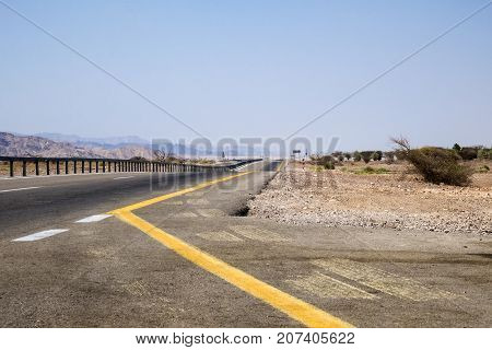 Highway 90 - the longest Israeli highway