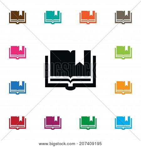 Book Vector Element Can Be Used For Book, Textbook, Encyclopedia Design Concept.  Isolated Textbook Icon.