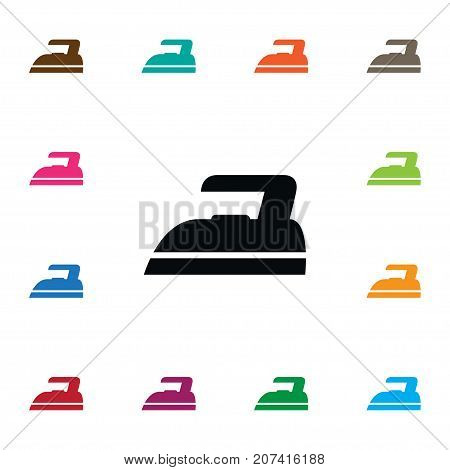 Press Vector Element Can Be Used For Press, Iron, Hot Design Concept.  Isolated Hot Icon.