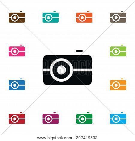 Media Vector Element Can Be Used For Media, Picture, Camera Design Concept.  Isolated Picture Icon.