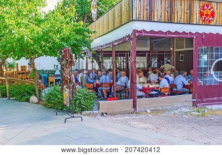 The Tea House In Antalya