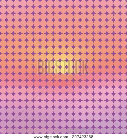 sunrise pastel pink concept seamless pattern. geometry motif in dawn colors. vector illustration. color design element. abstract colorful tile.