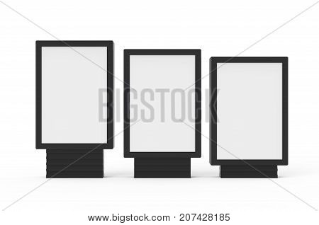 Three Different Light Boxes