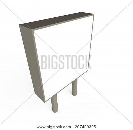 Blank Ad Board