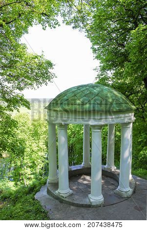 Old Pavilion In A Picturesque Location. Sednev.ukraina