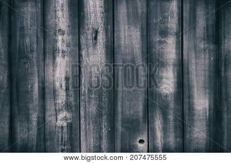 Old wooden dark texture for background or backdrop