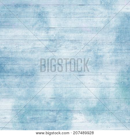 Vintage white and blue board texture with scratches and old paint for Christmas design