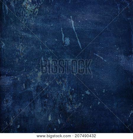Dark blue craft scratched vintage chalkboard backdrop