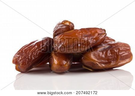 Dates Fruits Isolated On White Background