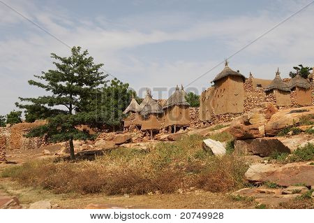 Dogon village in Mali, Africa