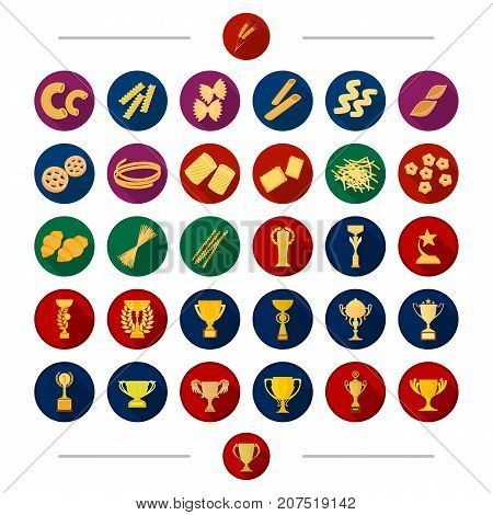 Sport, attribute, bowl and other  icon in cartoon style. Star, gift, Goods, icons in set collection