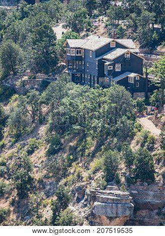 Grand Canyon United States: July 23 2017: Kolb Studio in Grand Canyon