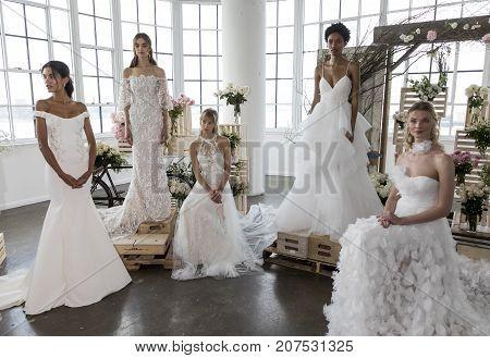 Marchesa Bridal And Notte Bridal Fw2018 Presentation