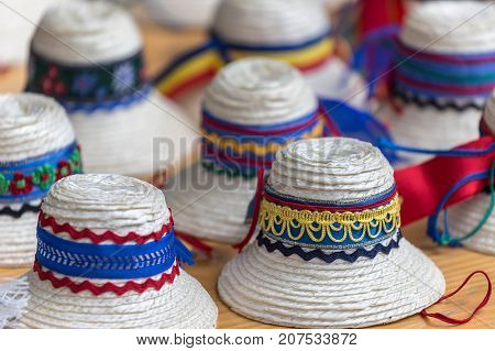 Hats for men traditional romanian from Maramures area.