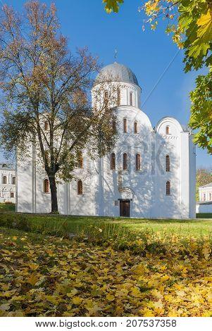 Boris and Gleb Church in the city Chernigov (XII century.)