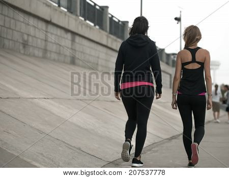 Two Sports Girls