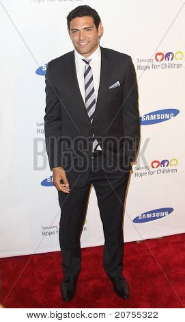 NEW YORK - JUNE 7: New York Jets quarterback Mark Sanchez attends the Samsung Hope for Children Gala at Cipriani Wall Street on June 7, 2011 in New York City.
