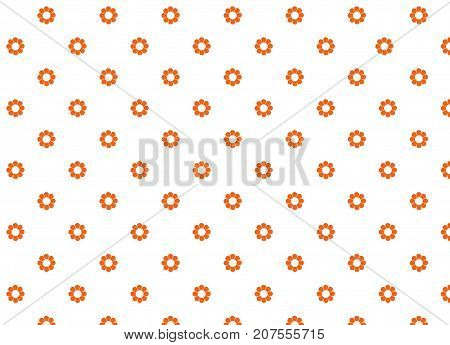 this is a poster, spot spot, background, picture, white, orange  a flowers