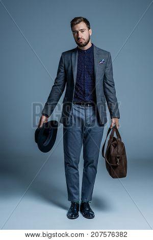 Dissatisfied Man In Suit
