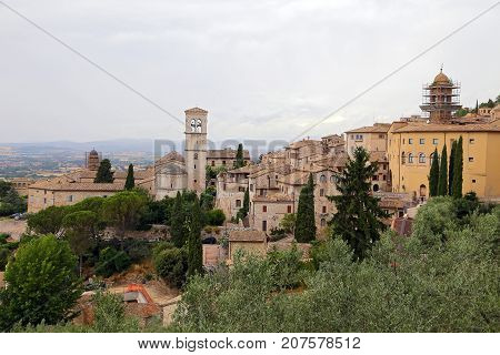 Assisi small town of umbria - Italy