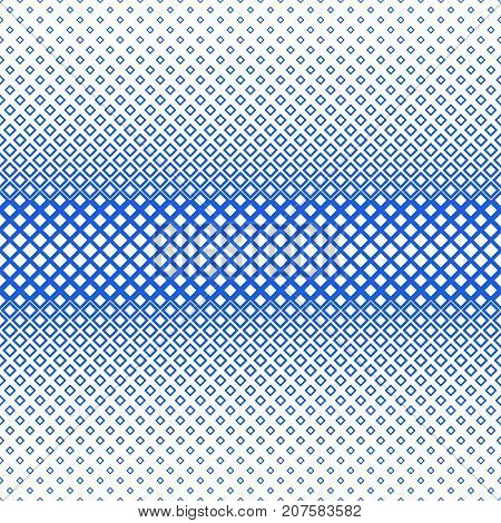 Symmetrical geometric halftone square pattern background - vector graphic from squares in varying sizes