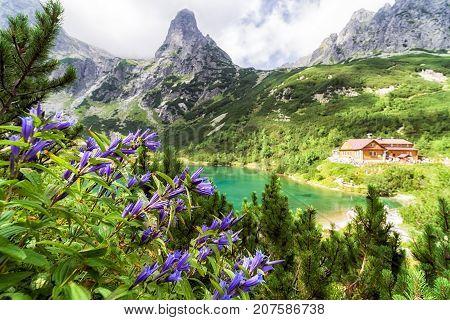 Mountain cottage Chata pri Zelenom plese in High Tatras mountains Slovakia