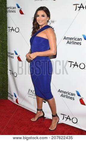LOS ANGELES - SEP 24:  Eva Longoria arrives for the 'El Sueno De Esperanza' Celebration on September 24, 2017 in Hollywood, CA
