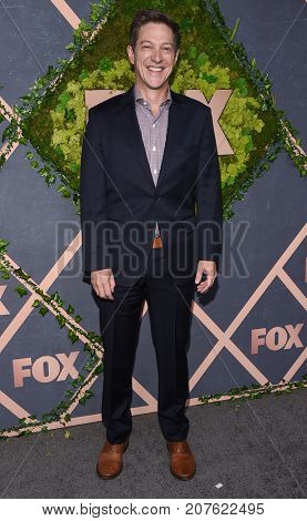 LOS ANGELES - SEP 25:  Kevin Rahm arrives for the FOX Fall Party on September 25, 2017 in West Hollywood, CA